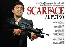 SCARFACE Movie Poster - Gangster Tony Montana Medium Size 16x20 ~ Al Pacino