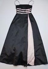 Urban Girl Nites Dress Womens Size 7/8 Black & Pink Strapless Dress Great Shape