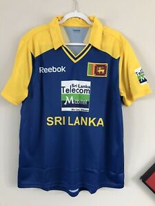 Vintage Sri Lanka Soccer Cricket Jersey XL Shirt Football Reebok MLS RARE