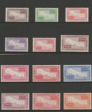 1954 NEPAL Map SET Sg85-96 MLH CV £260