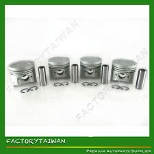 Piston Set STD 76mm for Kubota V1405 (100% Taiwan Made) x 4 PCS