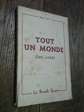 Tout un monde Les cons / René Nif / 1948