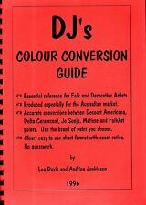 73 page DJ's COLOUR CONVERSION GUIDEJo Sonja MATISSE Delta Ceramcoat PLAID ++