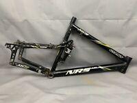 "Giant NRS FS MTB Bike Frame 20.5"" Large Softtail Rock Shox Disc Black"