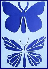 A4 Large Flexible Stencil *BUTTERFLY* Layered Stencil Butterflies 21cm x 29.5cm