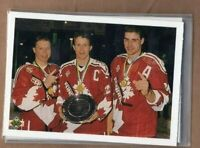 ERIC LINDROS 1990/91 UD Upper Deck CANADA's CAPTAINS w/Draper & Rice #473 ROOKIE
