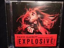 David Garrett Explosive CD+Sticker NM (311)