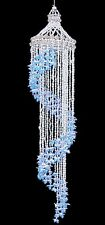 Shell Wind Chime Blue Bubble Seashell Spiral 36 inch
