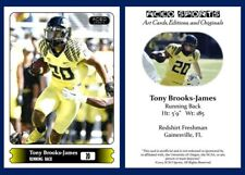 2015 Tony Brooks-James Art Cards Editions & Originals Football Card