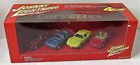 Johnny Lightning Collector Club Corvettes Set of 4 Sealed Box