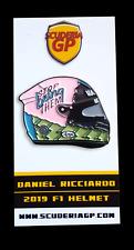 Daniel Ricciardo Helmet Pin Badge Renault F1 2019 - Scuderia GP