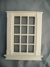 Half Scale 1:24 Georgian 12 Pane Window Jackson's Miniatures  Dollhouse  #L4