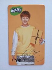 EXO K M Sunny 10 Event [ Official ] Photocard Photo Card  C type - Xiumin