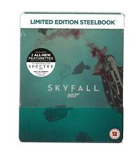 007 JAMES BOND : SKYFALL - UK EXCLUSIVE BLU RAY STEELBOOK - NEW & SEALED
