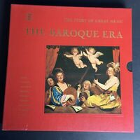 The Baroque Era-The Story Of Great Music Time Life Records 4 LPS Box Set w/Book