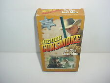 Gunsmoke James Arness To The Last Man VHS Video Tape Movie Collection