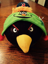 Boston Red Sox Angry Birds Stuffed Animal Ball Black. Soft. Brand New