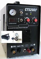 Plasma Cutter Simadre 520Dp 50A / 200A Tig Arc Mma Welder +Foot Pedal +Argon