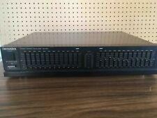Technics SH-E50 Stereo Graphic Equalizer, working, good condition.
