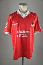 Benfica Lissabon Trikot 1992-1993 Gr. XL Hummel 90er #3 Casino Estoril