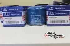 QTY 3, GENUINE Oil Filter  For Hyundai Accent Elantra Sonata Kia Optima