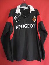Maillot Rugby NIKE Stade Toulousain Peugeot EADS Coton Toulouse Noir ST - XL