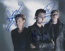 Depeche Mode w/reproduction signature archival quality, 003
