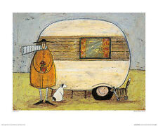 Sam Toft Home From Home Contemporary Humor Funny Print Poster 16x20