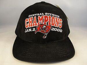 NFL Tampa Bay Buccaneers Central Division Champions Vintage Strapback Hat Cap