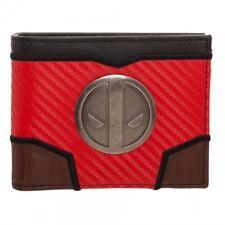 Marvel Deadpool Carbon Fiber Bi-fold Wallet