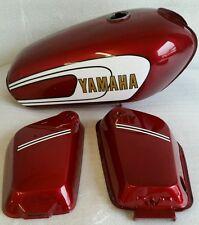 YAMAHA YB100 506 MODEL 1976-1977  FULL PAINTWORK DECAL KIT