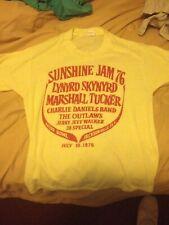 Vintage verry VTG RARE!! 1976 Lynyrd Skynyrd T-Shirt USA Size RARE!!!