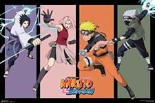 "Naruto Team 7 Anime Laminated Poster - 36.5"" x 24.5"""