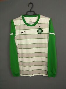 Celtic Jersey 2011/12 Long Sleeve Kids Boys 13-15 y Shirt Nike 419954-105 ig93