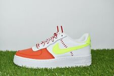 Nike Air Force 1 LV8 SPRB (GS) Size 3.5Y White/Volt-Team Orange-Black BQ6978 100