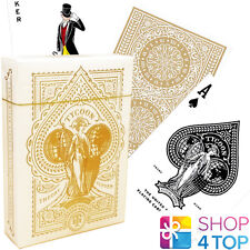 TYCOON IVORRY EDITION THEORY 11 LUXURY PLAYING CARDS DECK WHITE MAGIC TRICKS NEW
