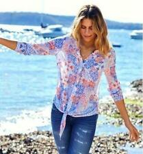 Regular Size Long Sleeve Western Tops for Women