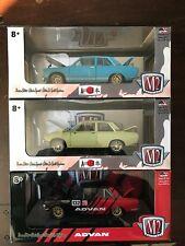 M2 1970 datsun 510 set of three 1/24 scale