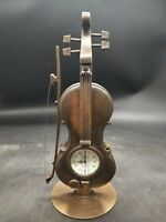 Chinese Antique violin Clock Watch Home Decoration