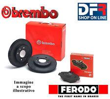 KBF120 DISCHI FRENO BREMBO PASTIGLIE FERODO MERCEDES CLASSE A W169 A150 con 70 k