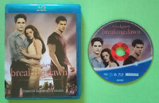 BLU-RAY Film Ita Fantasy The Twilight Saga BREAKING DAWN ex nolo no dvd cd (DV7)