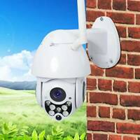 Auto Tracking Outdoor PT IP Camera 1080P HD Speed Dome CCTV Surveillance Camera