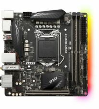 Cartes mères DDR4 SDRAM MSI pour ordinateur Mini-ITX