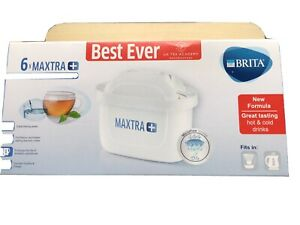6 Pack BRITA Maxtra+ Plus Water Filter Jug Replacement Cartridges Refills