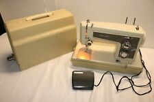 Vintage Kenmore Model 158 HEAVY DUTY Sewing Machine W/Case  158.14301