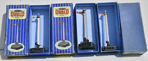 HORNBY DUBLO 3 BOXED SINGLE ARM D1 ELECTRICALLY OPERATED SIGNALS