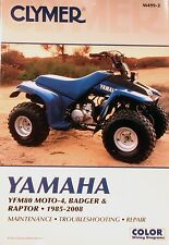 Yamaha Badger 80, 1985-2001, Clymer Shop / Repair Manual
