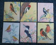 """27/""""x27/"""" CIRCLING SKIES by WILLIAM VANSCOY BIRDS FLYING over LAKE CANVAS"""