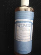 Dr. Bronners Pure Castile Soap Hemp Unscented / Baby  32 fl. oz 18-in-1