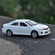 Camry 1:32 Toyota Model Cars Toy Sound&Light Collection&Gift Alloy Diecast White